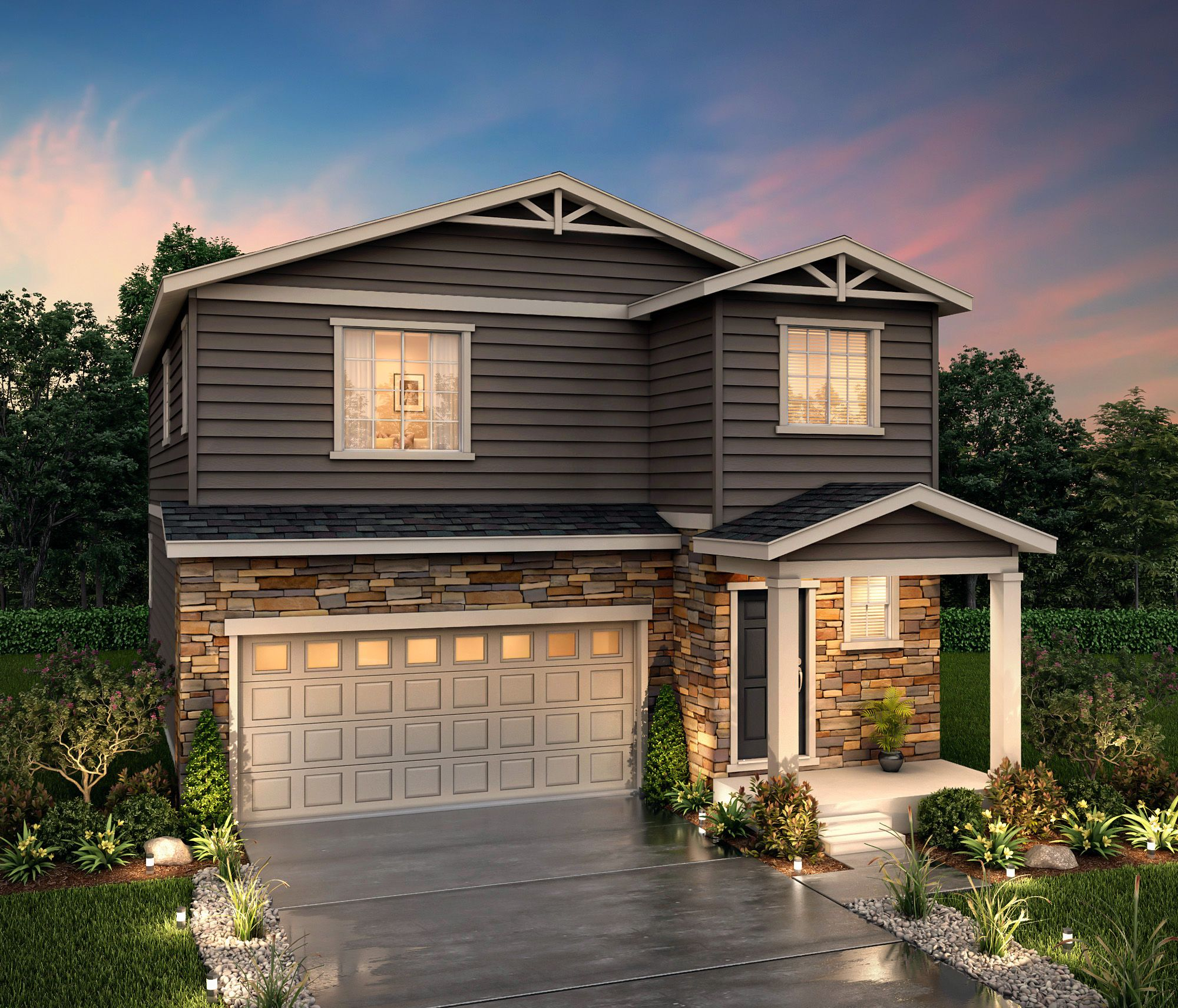 Exterior featured in the Mercury (Residence 29202) By Century Communities in Denver, CO