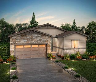 Palisade (Residence 39102) - Homestead at Crystal Valley: Castle Rock, Colorado - Century Communities