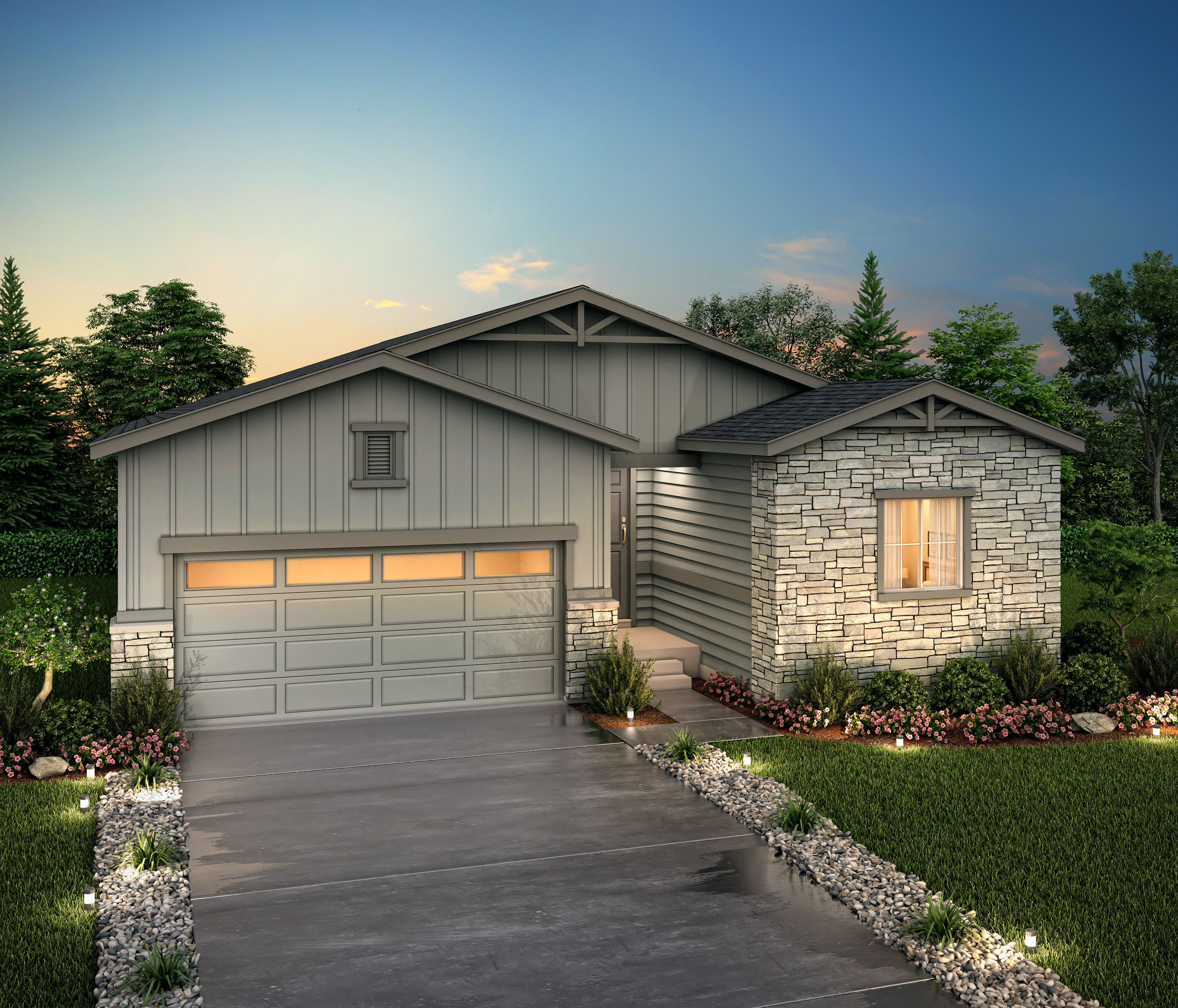 Exterior featured in the Palisade (Residence 39102) By Century Communities in Denver, CO