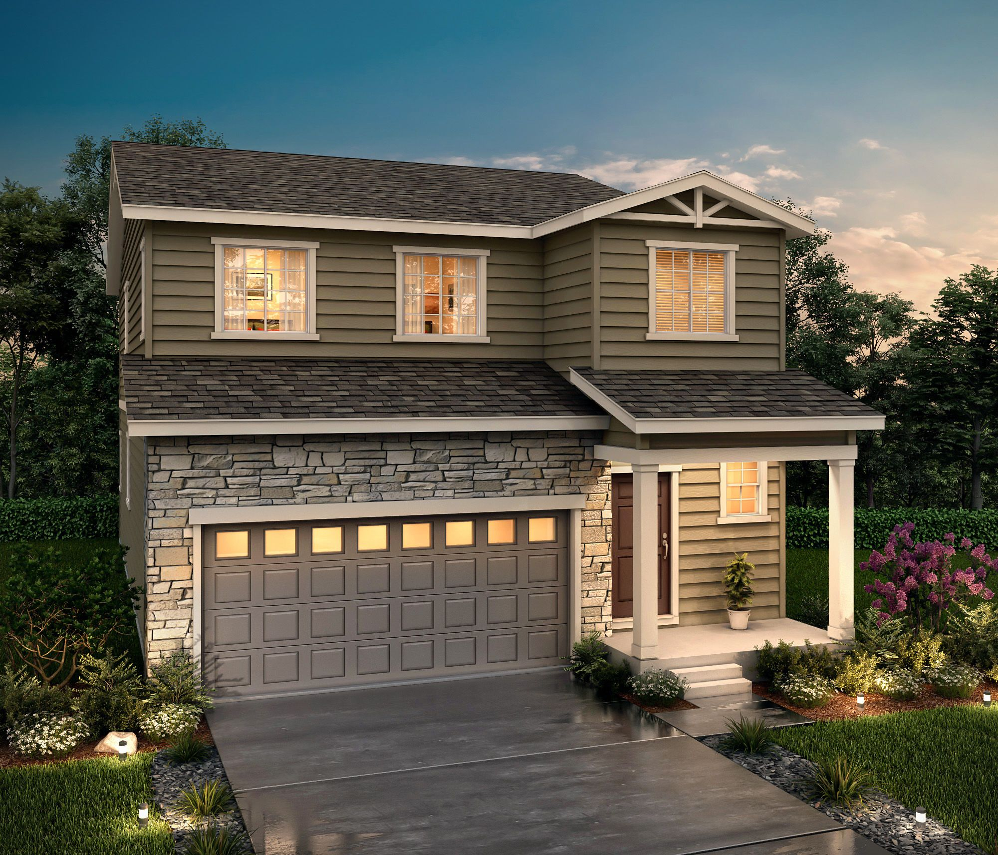 Exterior featured in the Platinum (Residence 29204) By Century Communities in Denver, CO