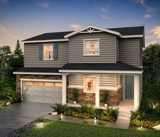 Silverthorne (Residence 39206) - Homestead at Crystal Valley: Castle Rock, Colorado - Century Communities