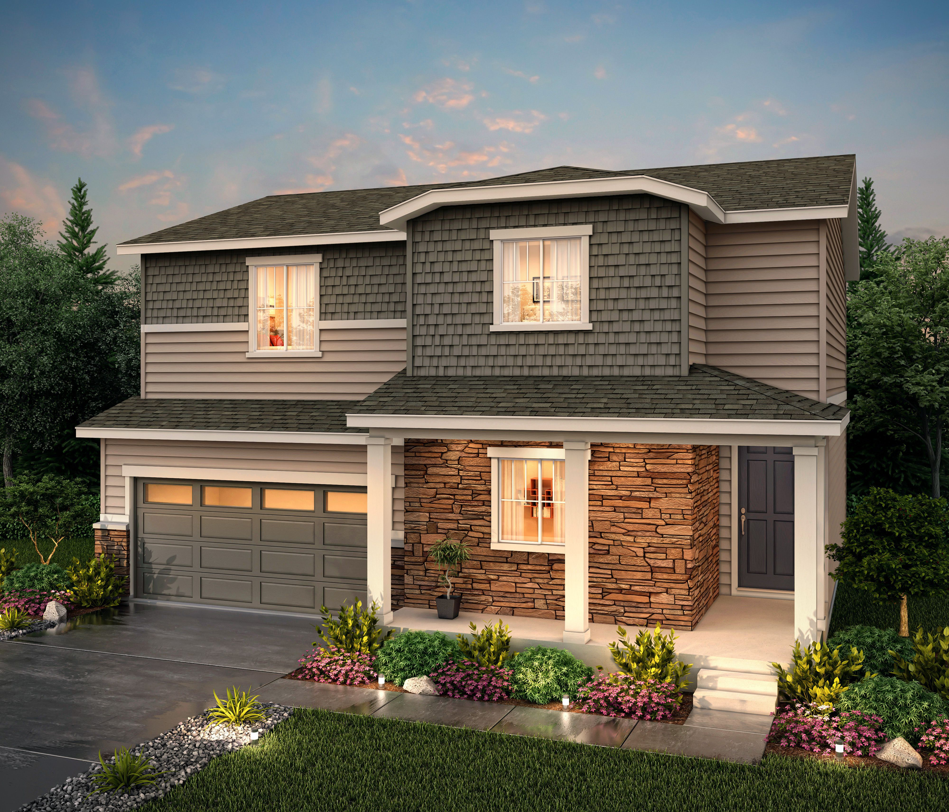 Exterior featured in the Silverthorne (Residence 39206) By Century Communities in Denver, CO