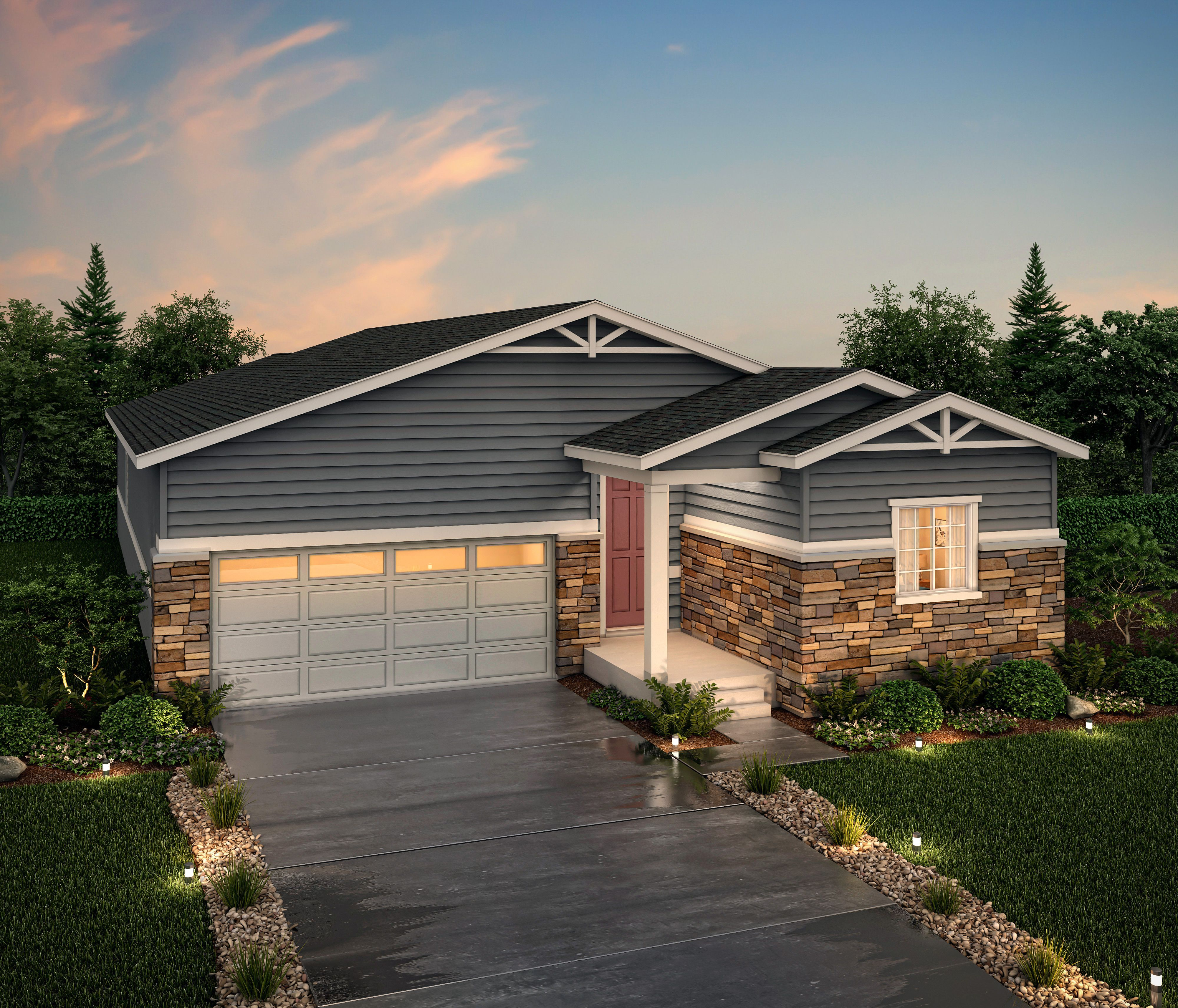 Exterior featured in the Telluride (Residence 39103) By Century Communities in Denver, CO