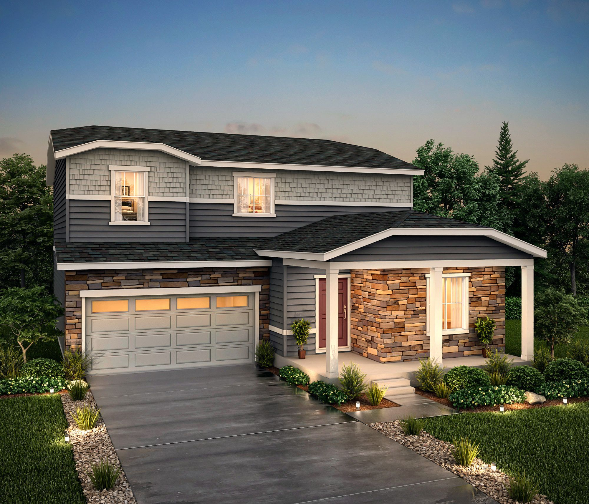 Exterior featured in the Vail (Residence 39208) By Century Communities in Denver, CO