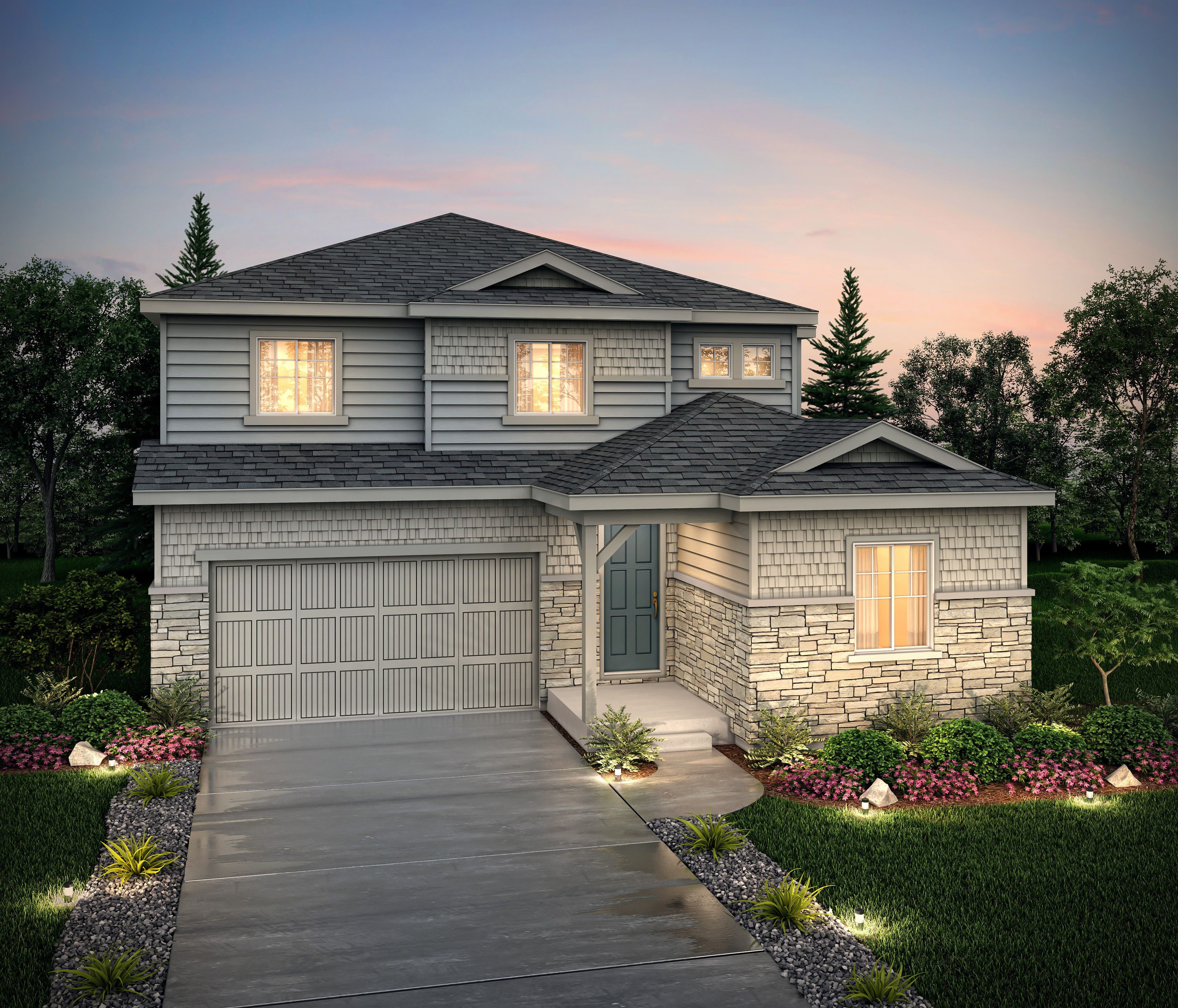 Exterior featured in the Bronte (Residence 40224) By Century Communities in Denver, CO