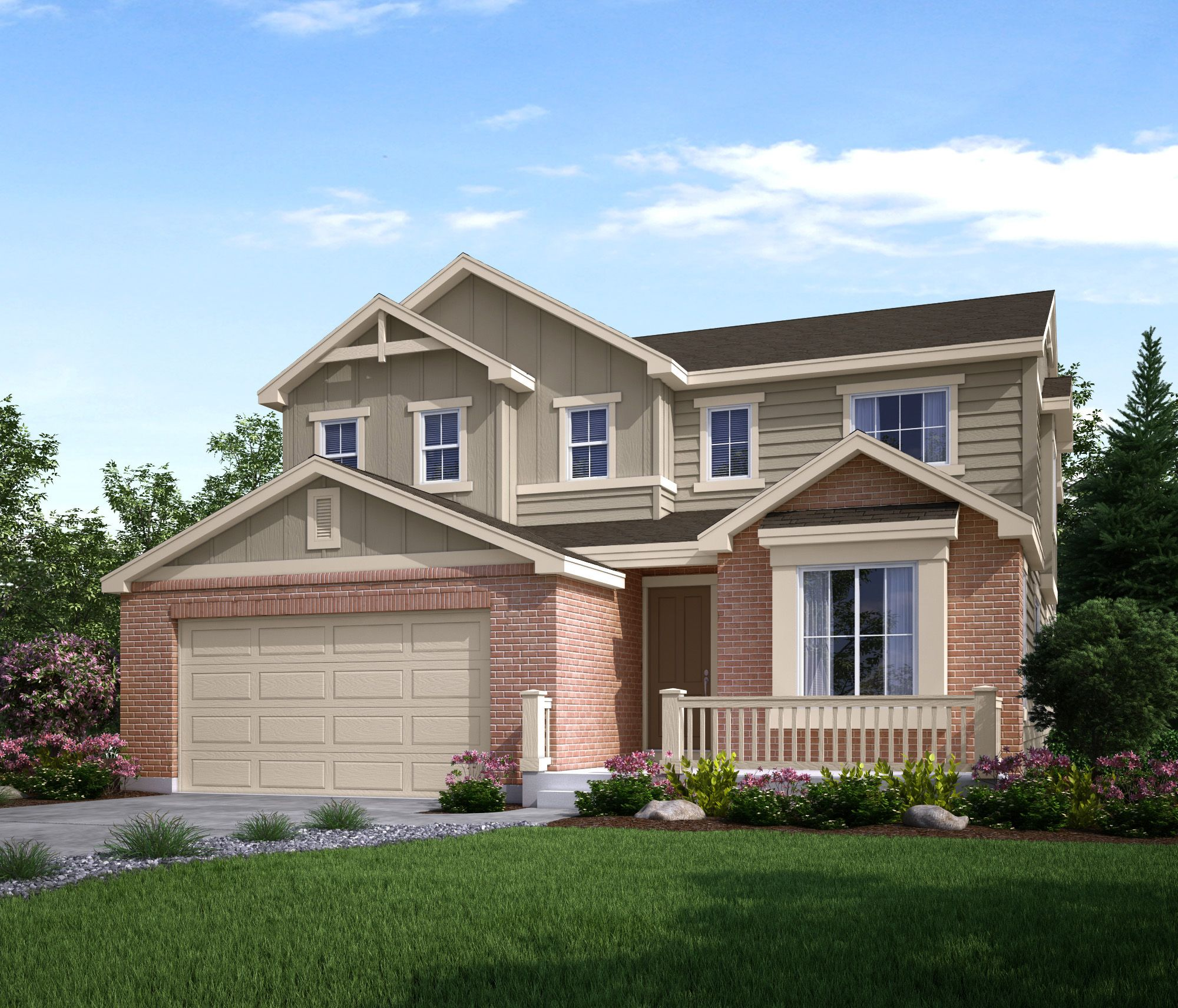 Exterior featured in the Carroll (Residence 40255) By Century Communities in Denver, CO