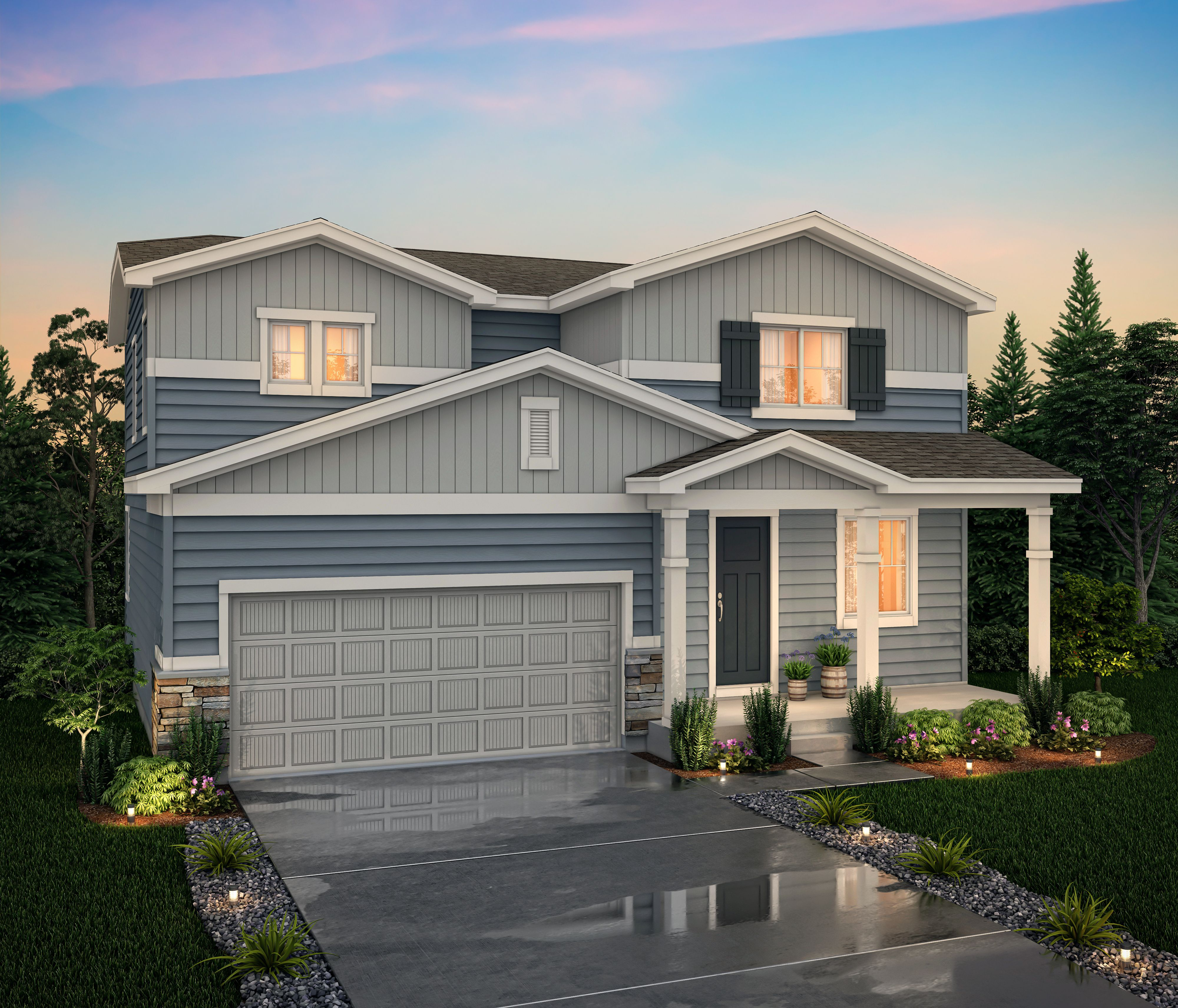 Exterior featured in the Avon (Residence 39205) By Century Communities in Denver, CO