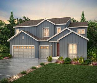 Cornell II (Residence 50265) - Skyline Ridge at Castle Pines: Castle Pines, Colorado - Century Communities