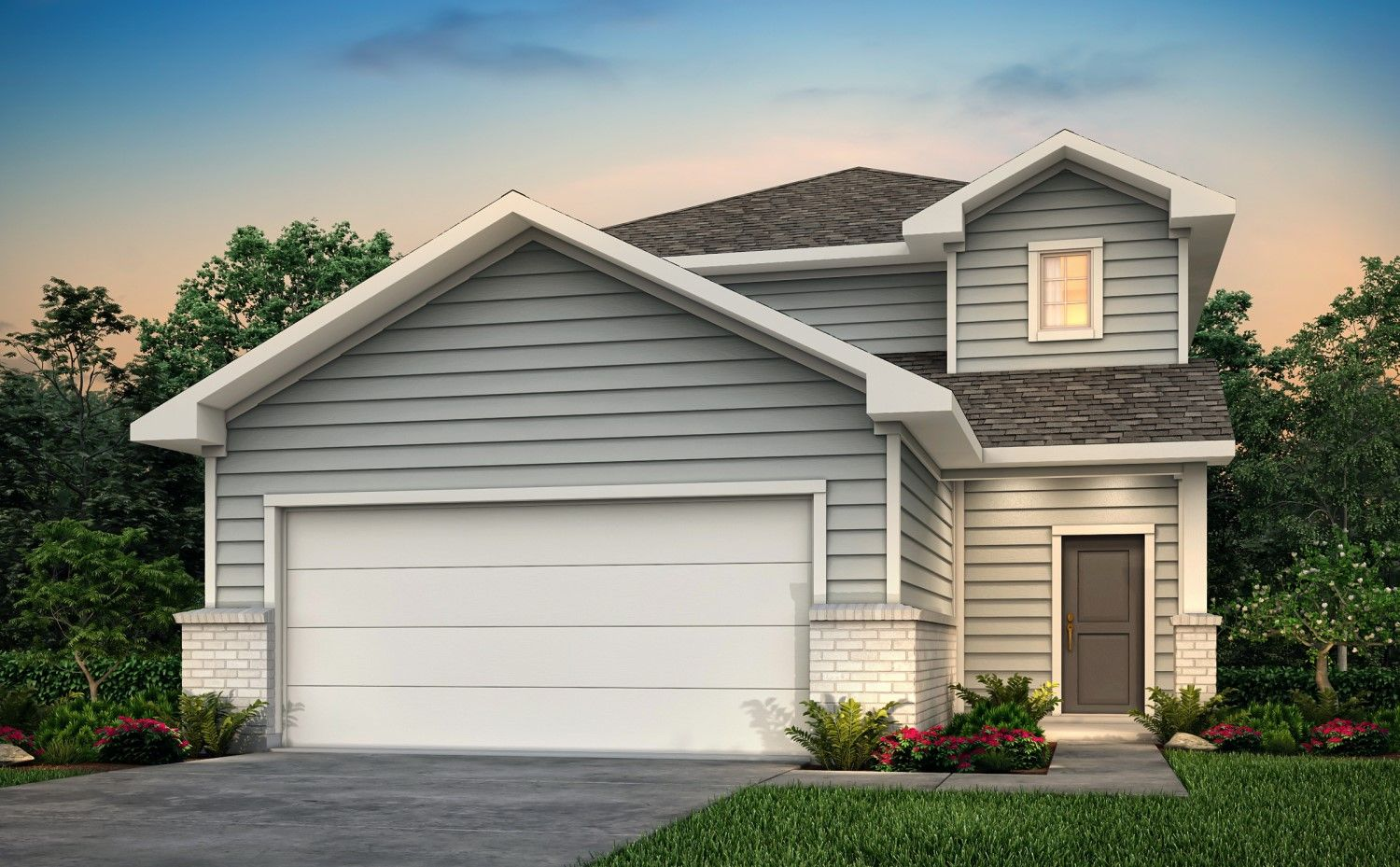 Exterior featured in the Walker By Century Communities in Houston, TX