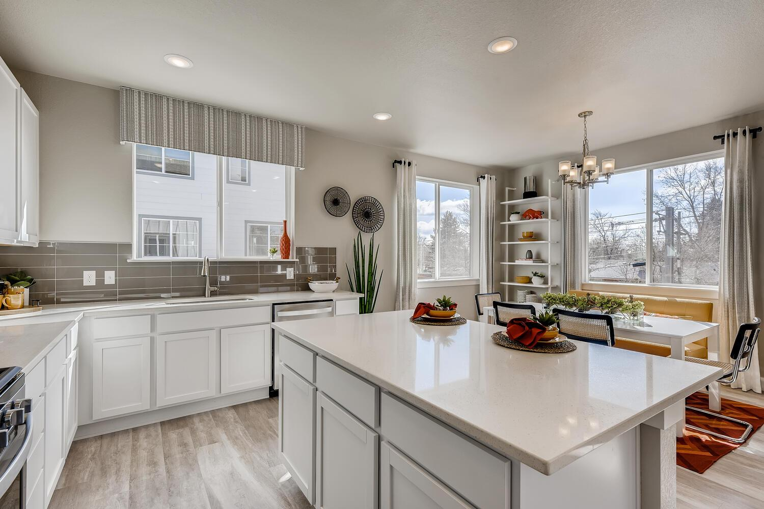 Kitchen featured in the Residence 22340 By Century Communities in Denver, CO