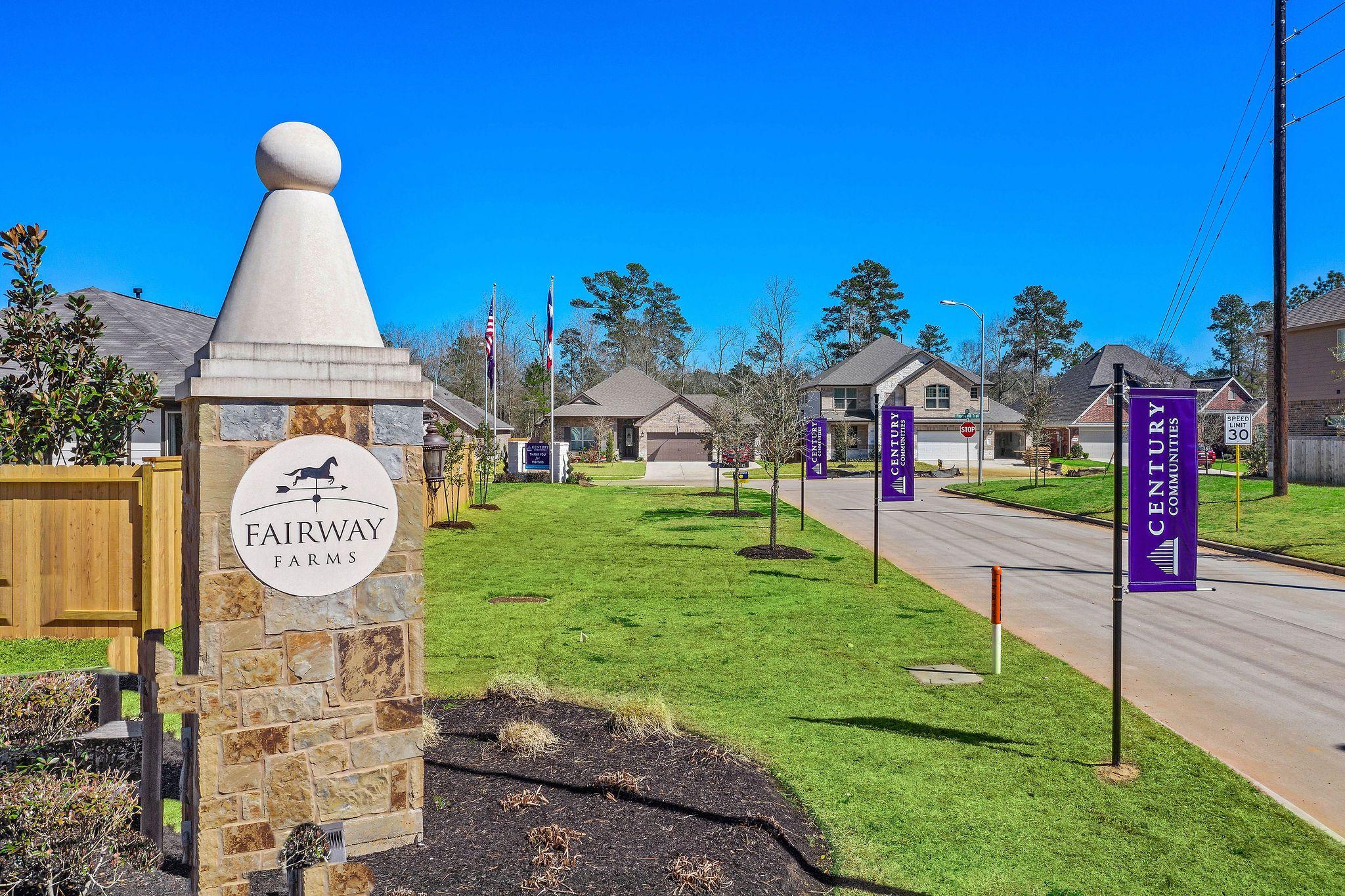 'Fairway Farms' by Century Communities of Houston Metro in Houston