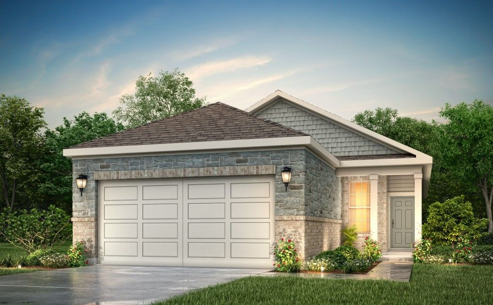 Exterior featured in the Fresno By Century Communities in Houston, TX