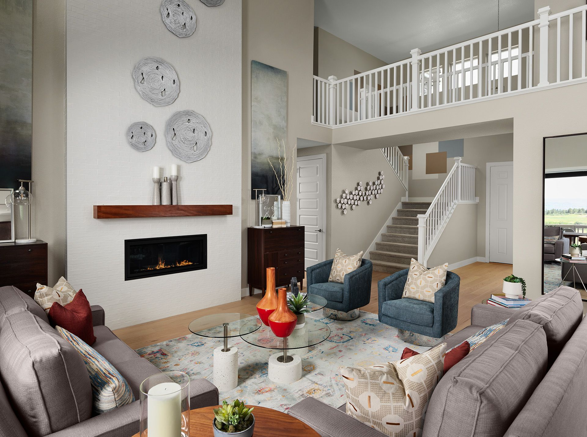 Living Area featured in the Harvard (Residence 50266) By Century Communities in Denver, CO