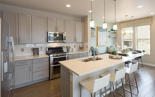 Kitchen-in-Residence 601-at-WesTown - Townhomes-in-Arvada