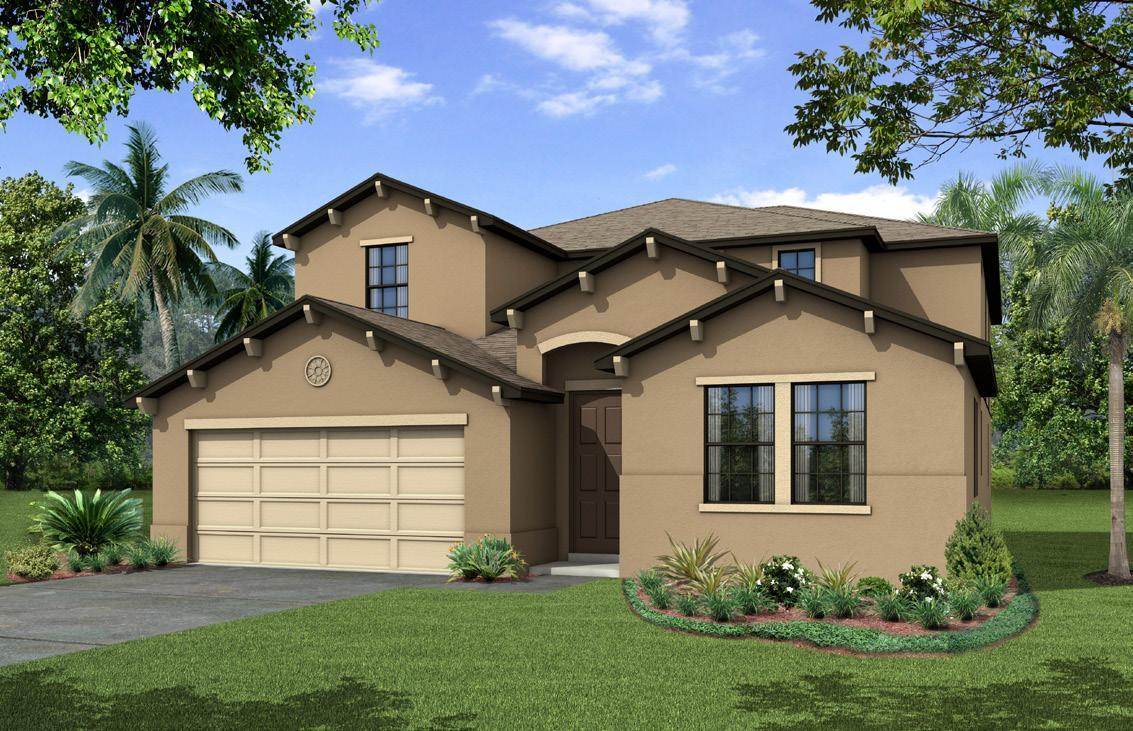 Exterior featured in the Marbella By Century and Craft Homes in Orlando, FL