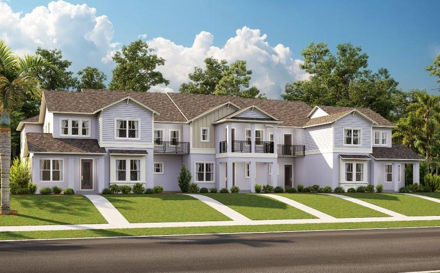 Exterior featured in the Bower By Century and Craft Homes in Orlando, FL