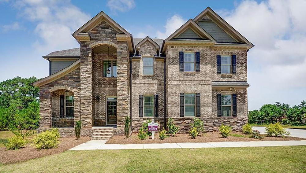 Hickory hills in mcdonough ga new homes floor plans by for New modern homes in atlanta ga