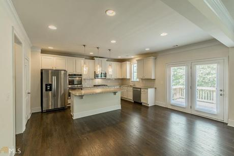 Kitchen-in-Biltmore-at-Enclave at Waterford-in-Cumming