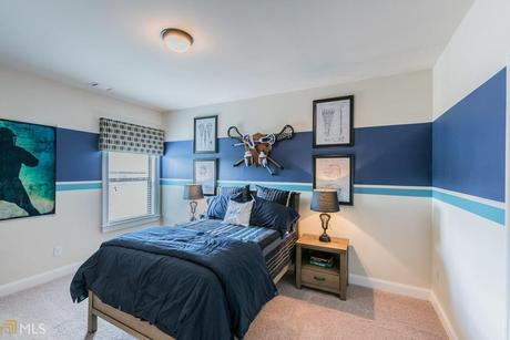 Bedroom-in-Reynolds-at-Brookhaven at Durham Lakes-in-Fairburn