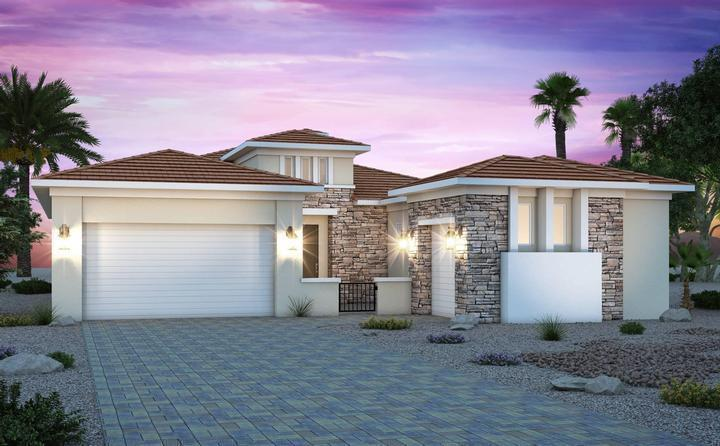 century-communities-nevada-henderson-lake-las-vegas-monte-lucca-2549-desert-contemporary:Monte Lucca 2549 | Desert Contemporary Elevation