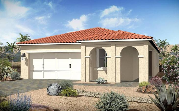 century-communities-nevada-henderson-tuscany-village-annata-1742-italianate:Annata 1742 | Italianate Elevation