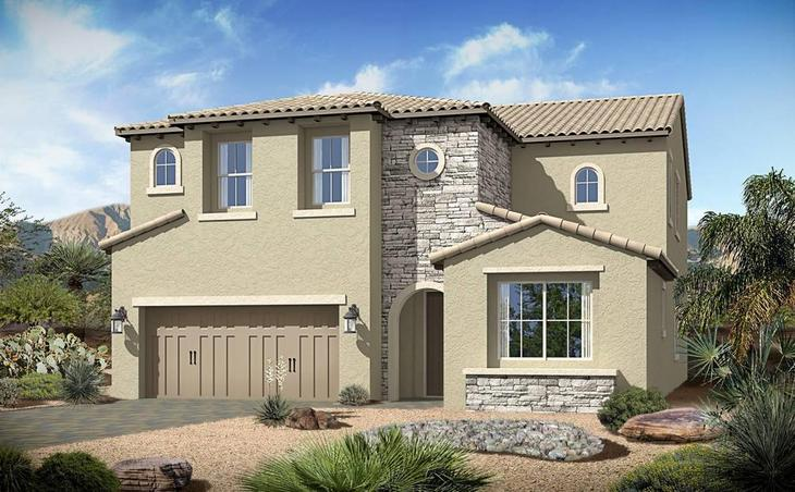 century-communities-nevada-henderson-tuscany-village-dolcetta-3609-tuscan:Dolcetta 3609 | Tuscan Elevation