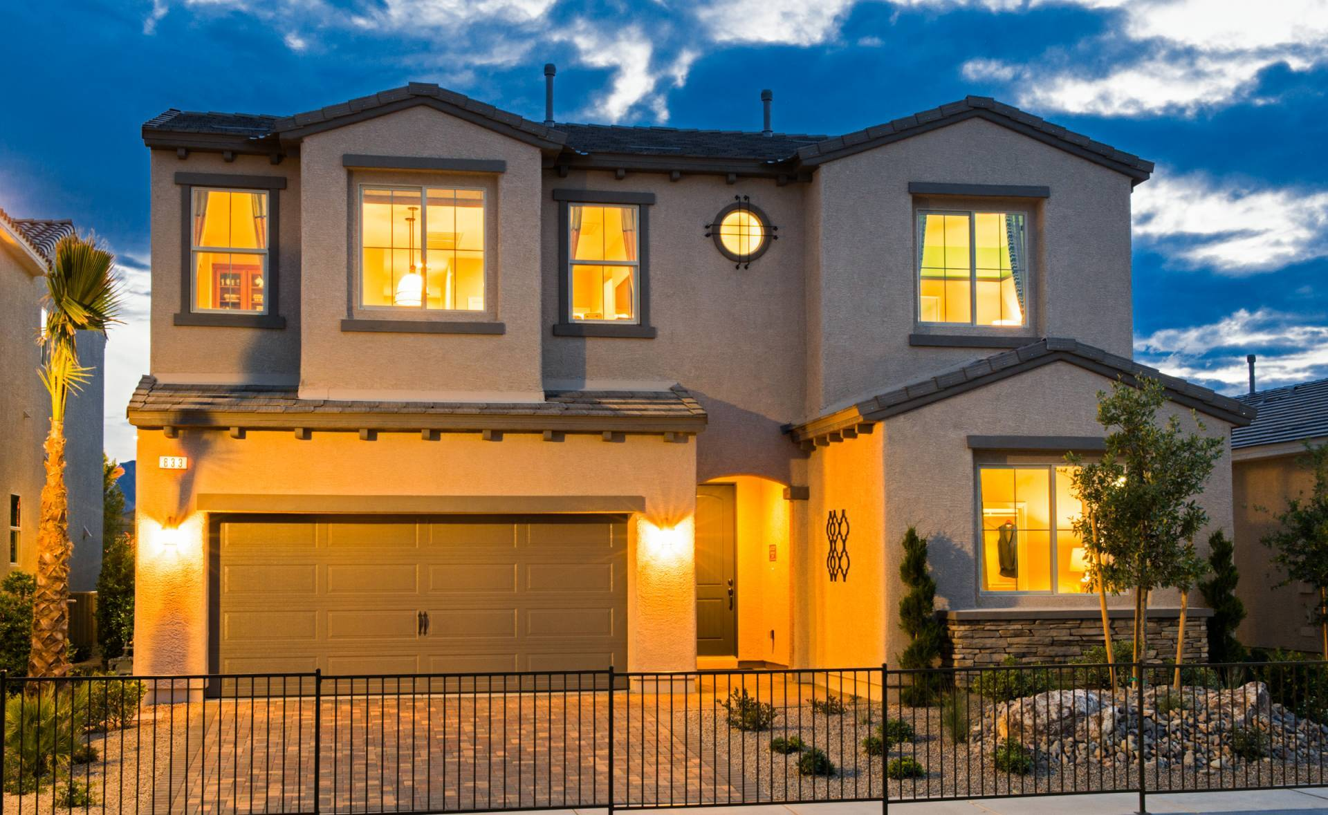 New luxury homes in las vegas nv newhomesource for Las vegas home source