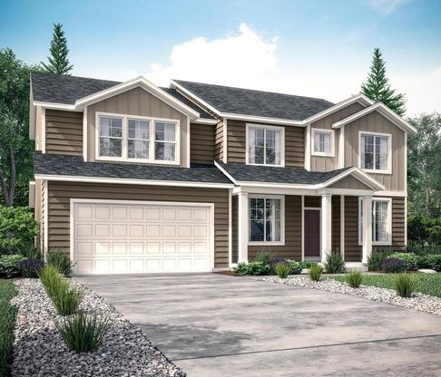 The Glacier at Vistas at Eastgate in Layton by Century Communities