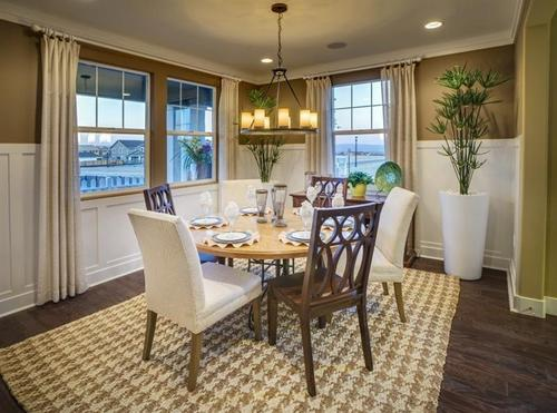 Dining-in-The Mariposa-at-East Garrison-in-East Garrison