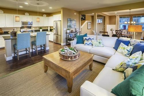 Greatroom-and-Dining-in-The Mariposa-at-East Garrison-in-East Garrison