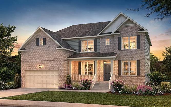 Monroe Floor Plan, New Homes Nashville