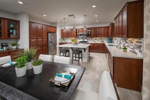 Kitchen-in-Juniper-at-Tierra at Monte Bella-in-Salinas