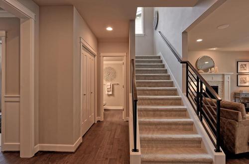 Stairway-in-The Knightley - 481-at-Jasper Court-in-Lynnwood