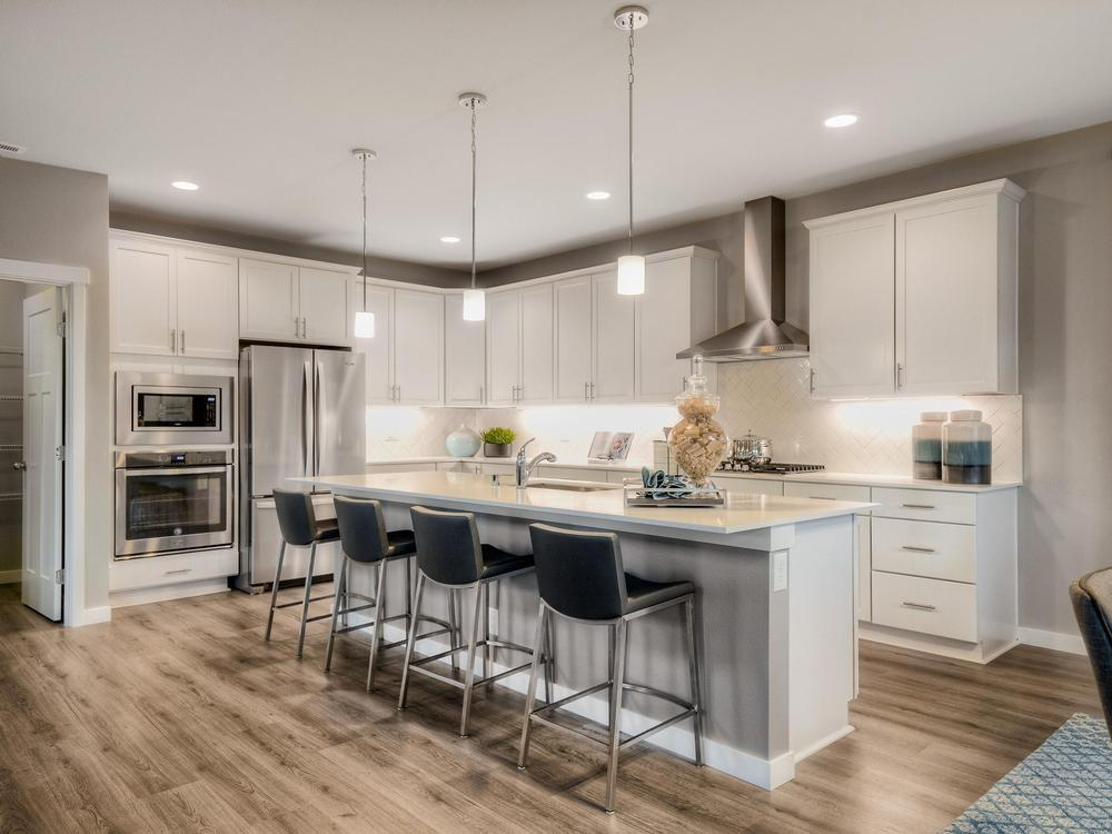 Kitchen-in-The Harriet-at-McCormick-in-Port Orchard