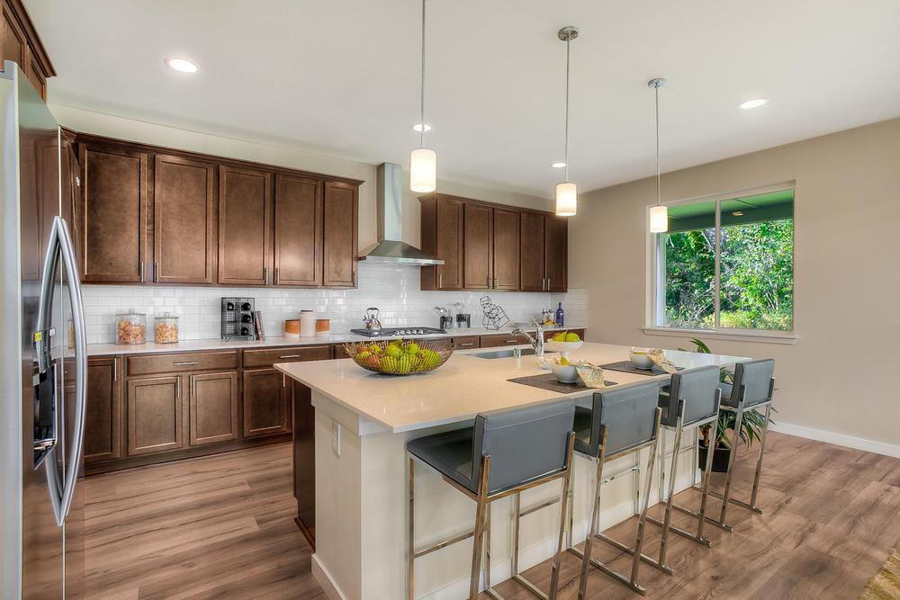 Kitchen-in-The Collins-at-McCormick-in-Port Orchard