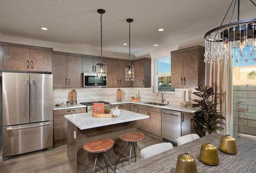 Kitchen-in-Plan 1-at-The Bungalows at Stonebrook-in-Chino