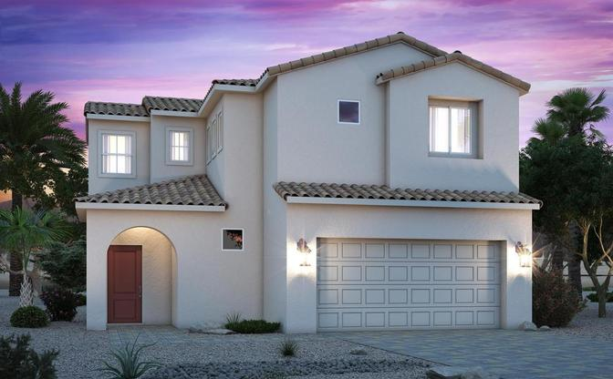 century-communities-nevada-north-las-vegas-cottonwood-1603-andalusian:Residence 1603 | Andalusian Elevation