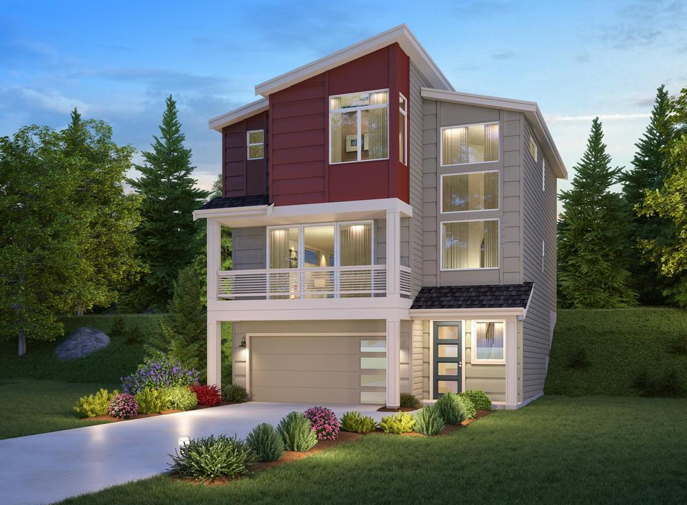 Exterior featured in The Talbot - 526 By Century Communities in Seattle-Bellevue, WA