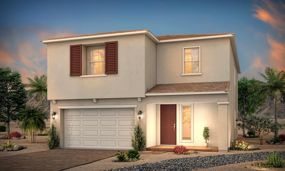 Exterior featured in the Residence 2843 By Century Communities in Las Vegas, NV
