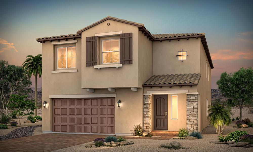 Exterior featured in the Residence 2947 By Century Communities in Las Vegas, NV