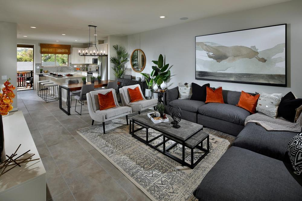 Living Area featured in the Residence 3 By Century Communities in Los Angeles, CA