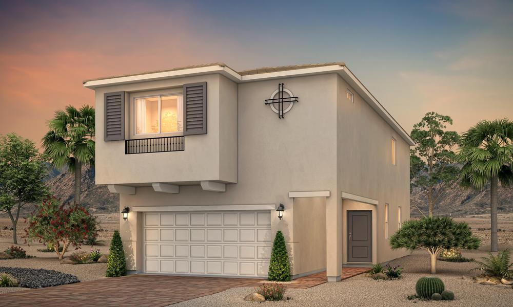 Exterior featured in the Residence 2001 By Century Communities in Las Vegas, NV