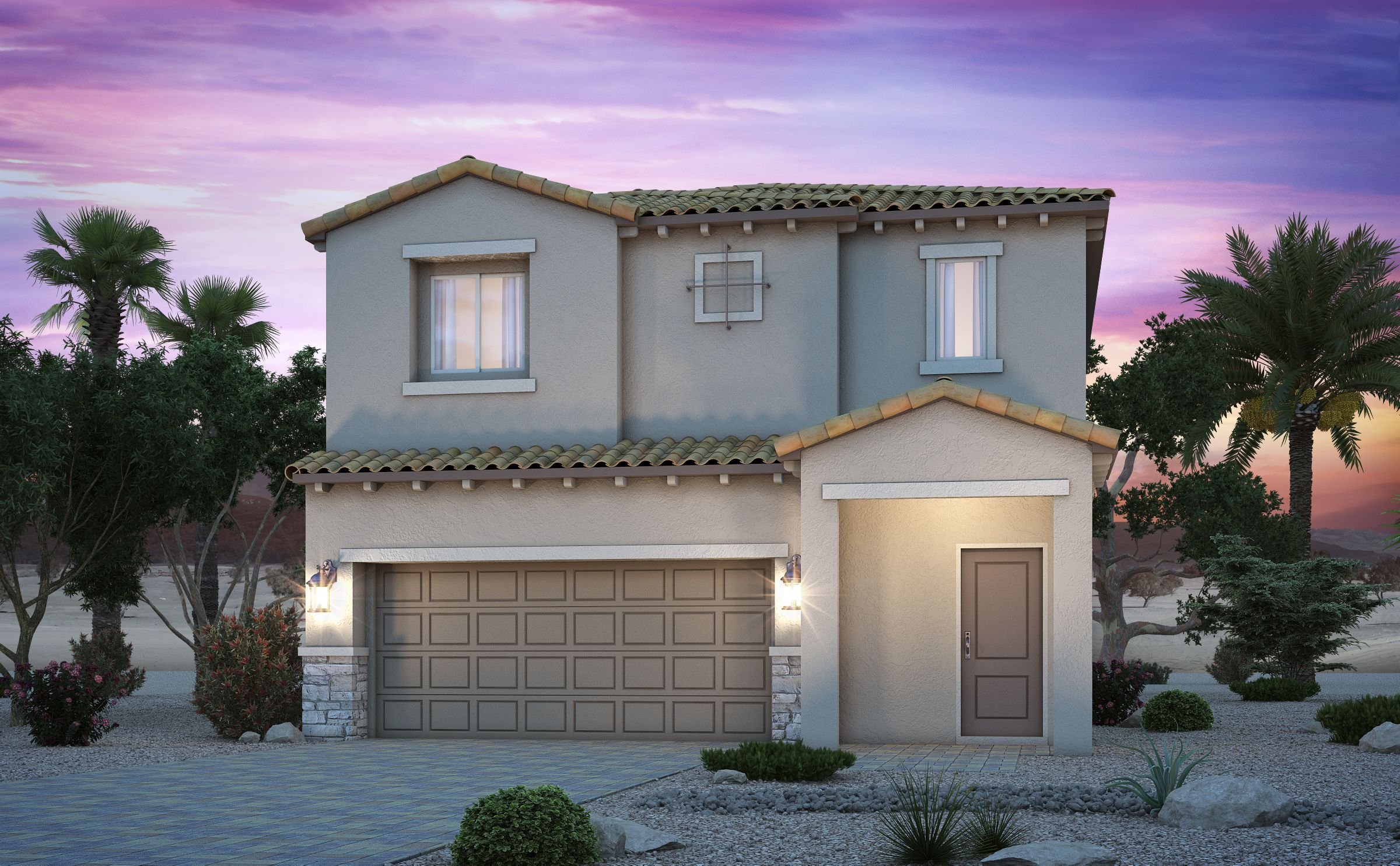 Exterior featured in the Residence 2054 By Century Communities in Las Vegas, NV