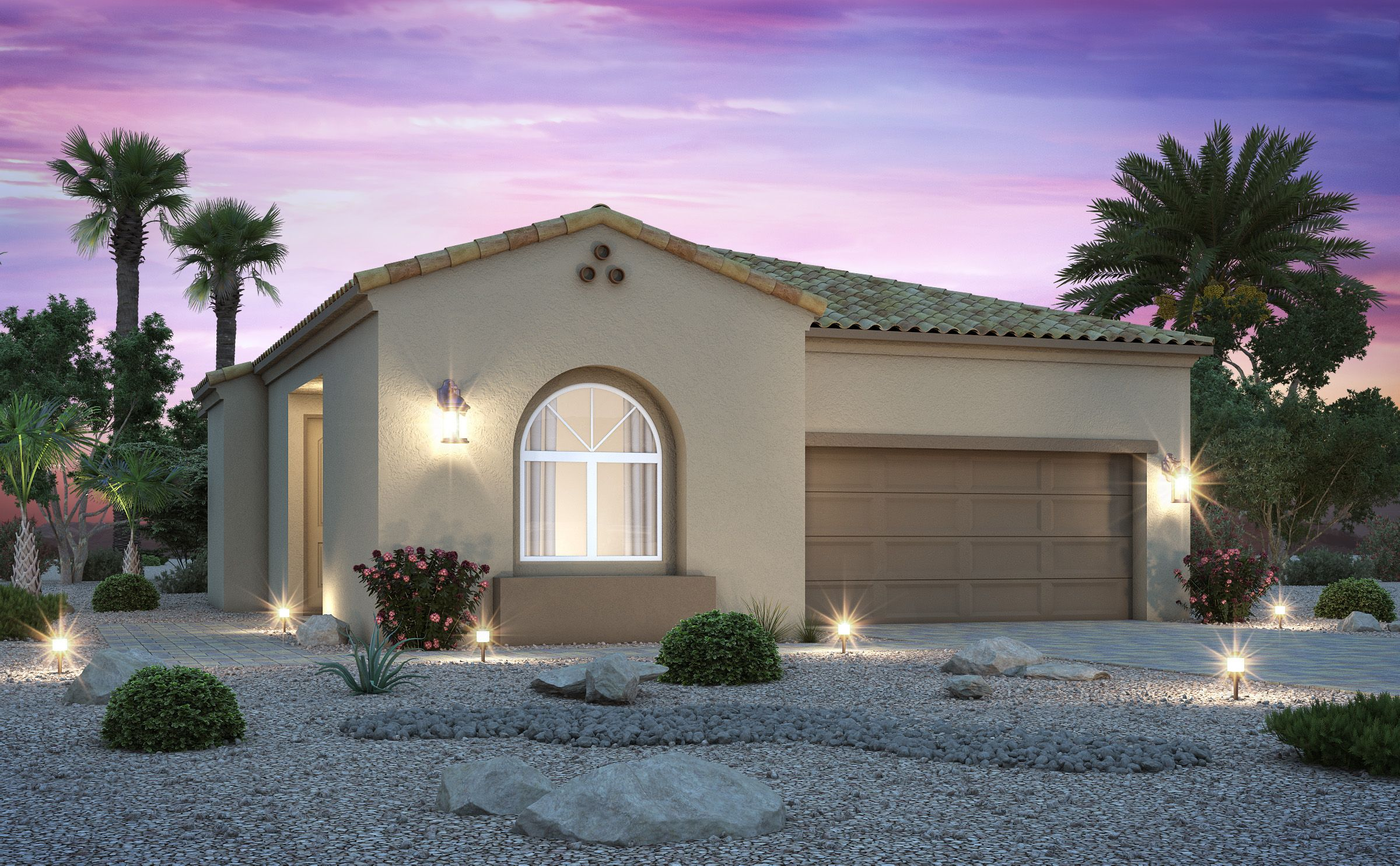 Exterior featured in the Residence 1816 By Century Communities in Las Vegas, NV