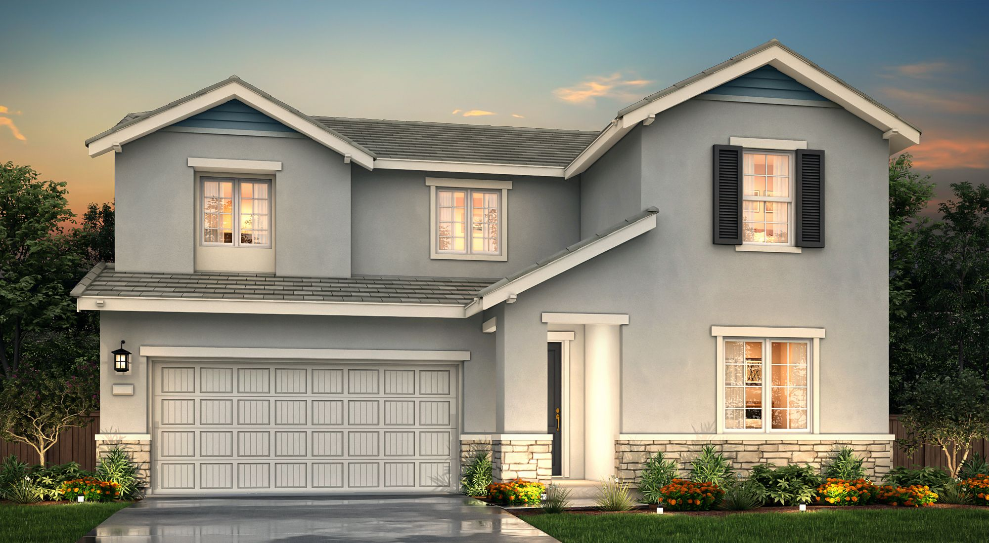 Exterior featured in the Poppy By Century Communities in Oakland-Alameda, CA
