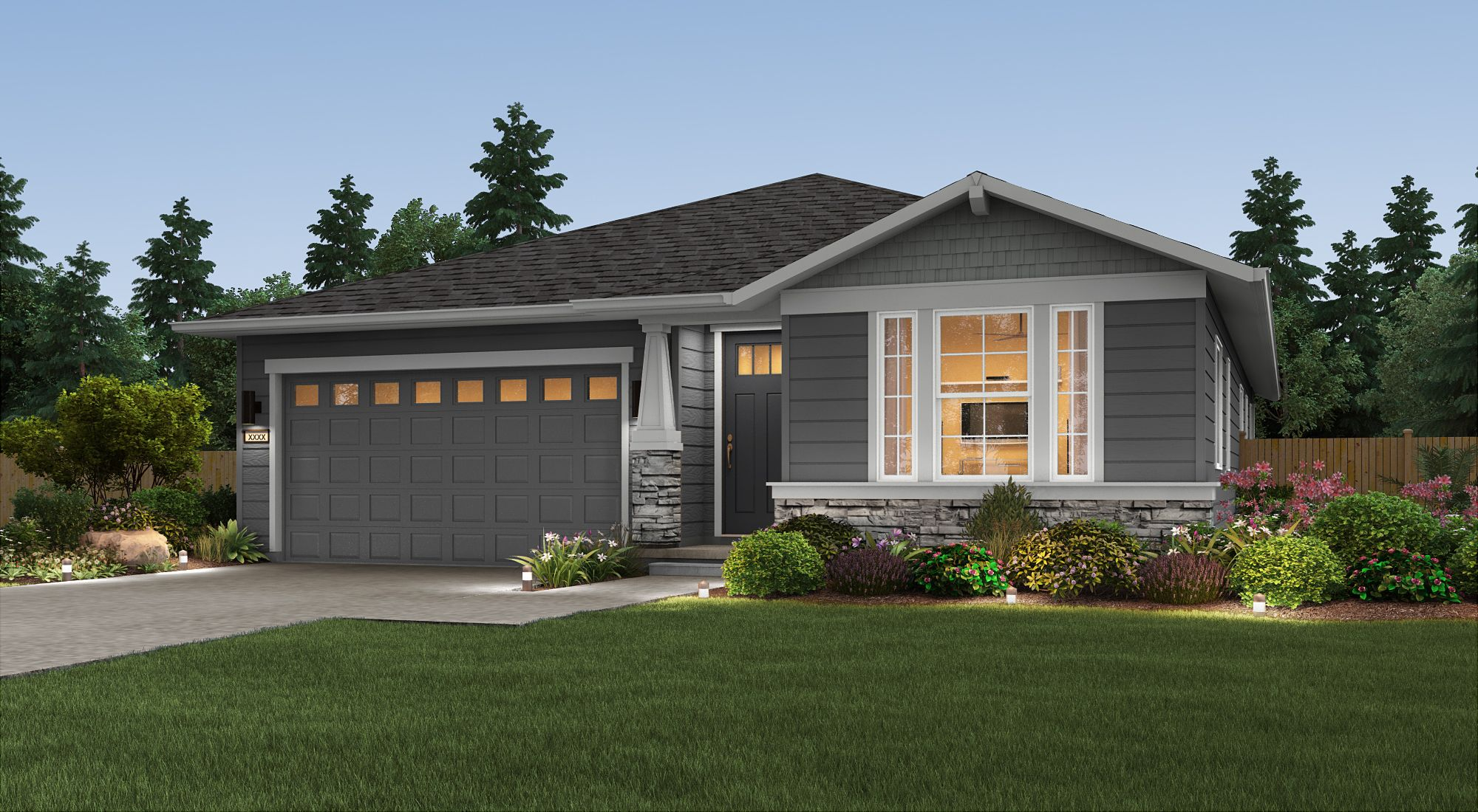 Exterior featured in the Penelope By Century Communities in Olympia, WA