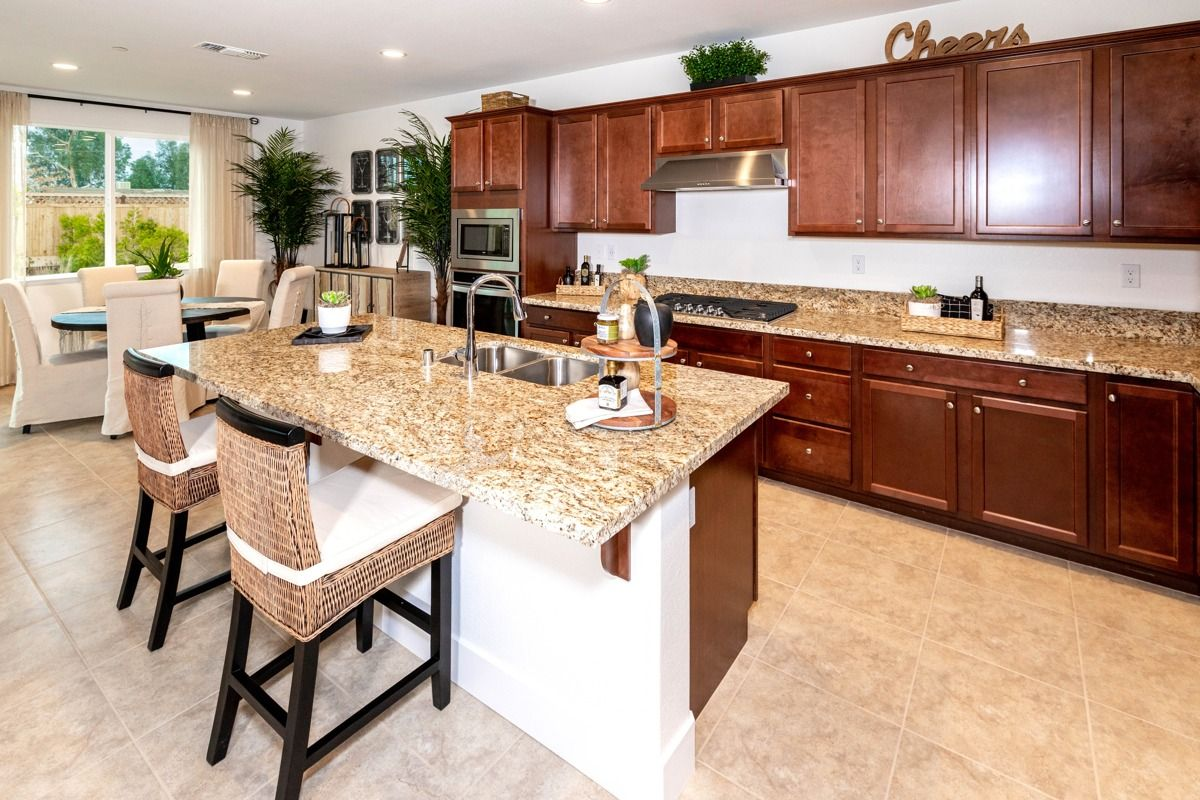 Kitchen featured in the Sienna By Century Communities in Fresno, CA