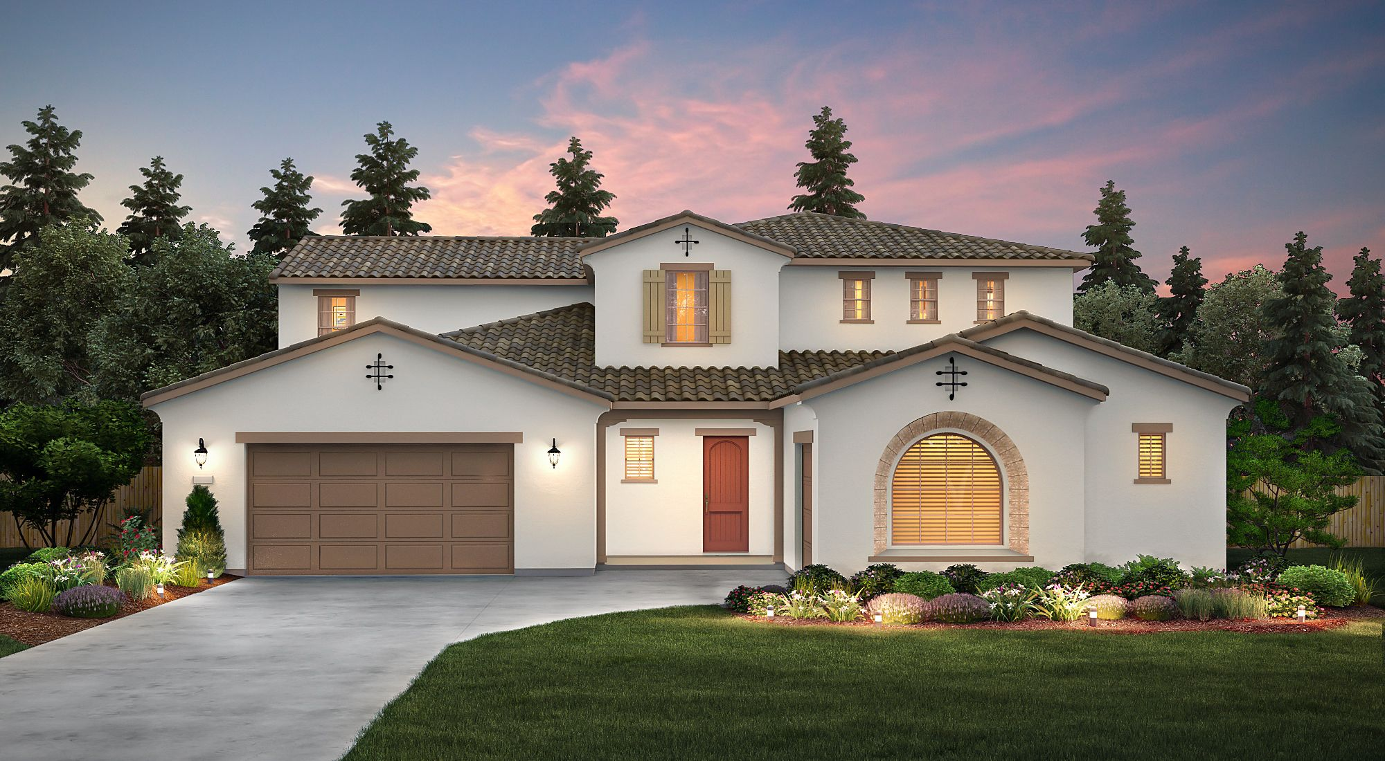 Exterior featured in the Lexington By Century Communities in Fresno, CA