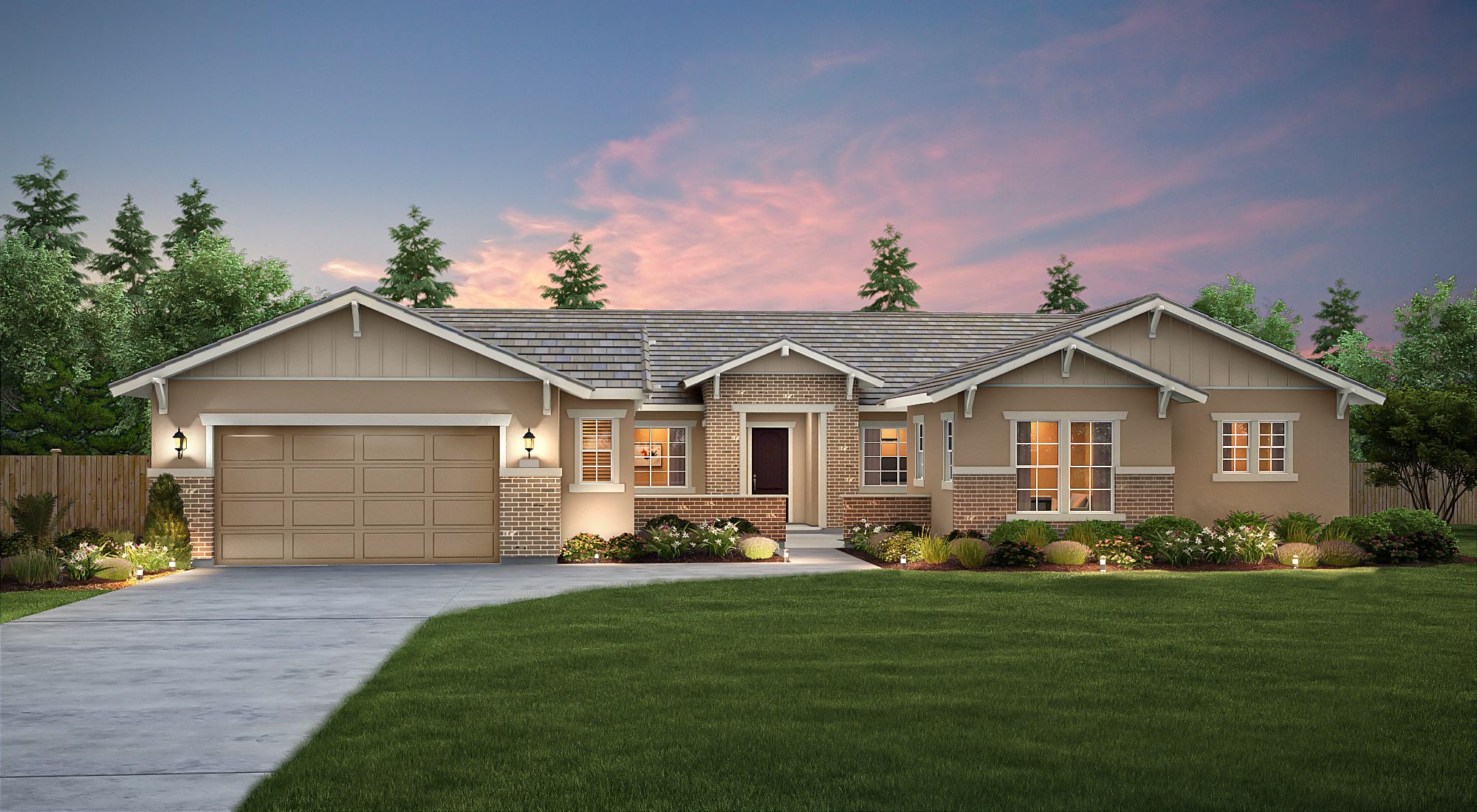 Exterior featured in the Meadow By Century Communities in Fresno, CA