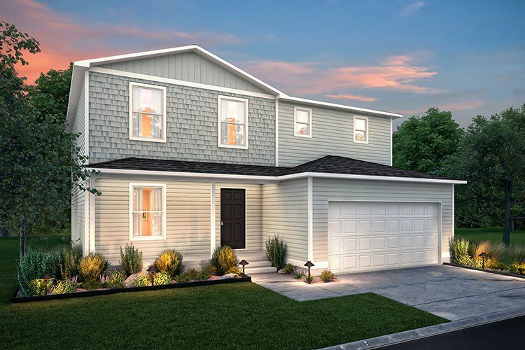 Exterior featured in the 2202 By Century Complete in Flint, MI